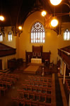 A picture of the interior of St Brides (Greyfriars)