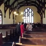 Inside Closeburn church