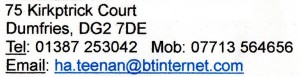 Helen Teenan contact details